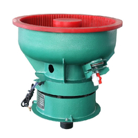 80L Small Bowl Vibratory Polishing Machines for Batch Parts Finishing