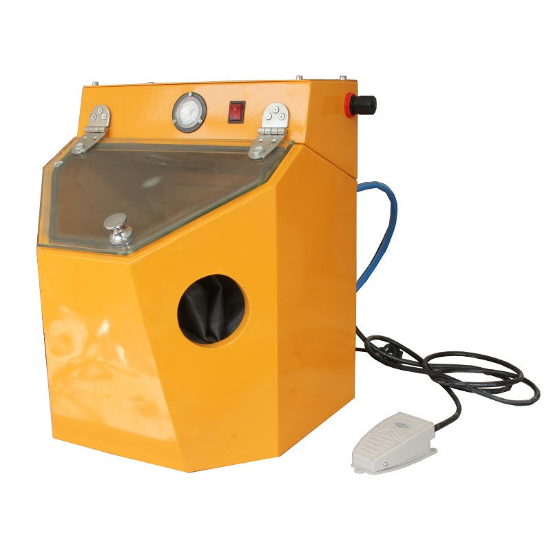 MIni Lab Sandblaster Cabinet. Benchtop Sandblaster for Sale