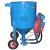 600 Litre Abrasive Blasting Machines Type Portable Sandblaster With Double Guns