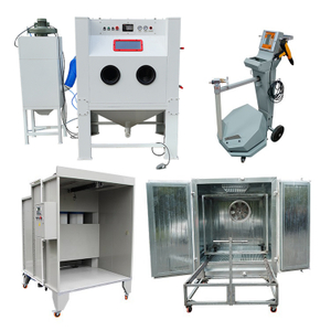 Sandblasting & Powder Coating Machine for Metal Surface Finishing