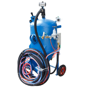 Dustless Sandblasting Equipment for Sale, Portable Water Sandblasting Pot