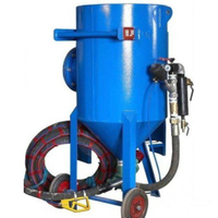 300 Litre Portable Pressure Sand Blasting Machine with Factory Price