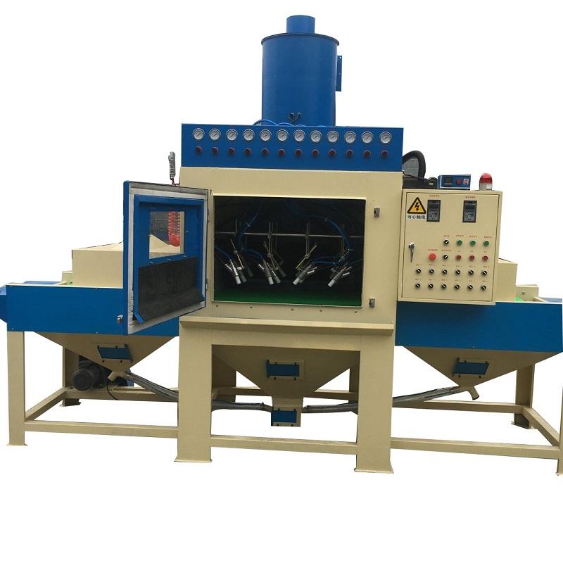 Conveyor Belt Automatic Sand Blasting Machine Buy
