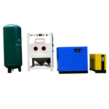 Sandblasting Machine with Air Compressor, Freeze Dryer, Air Storage Tank