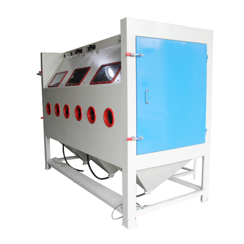 Multi-station Large Sandblast Cabinet for Sale